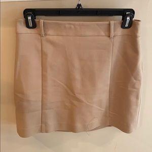 Express Beige Skirt Size 6